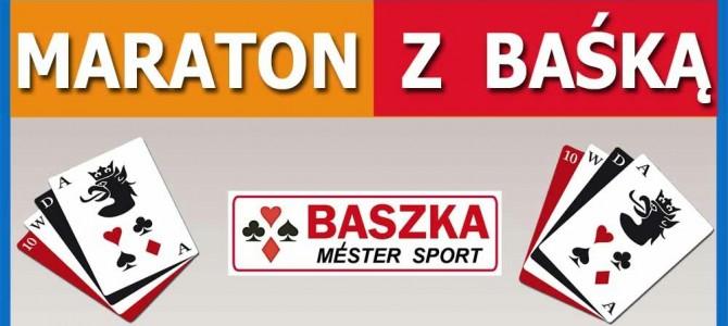 Warzno. I Maraton z Baśką.