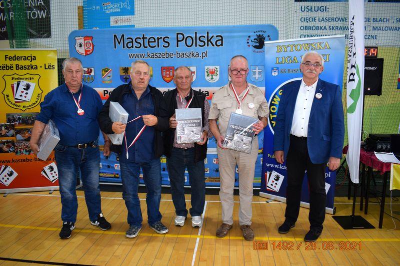 Henryk Radtke brązowym medalistą Mistrzostw Polski w Baśkę!